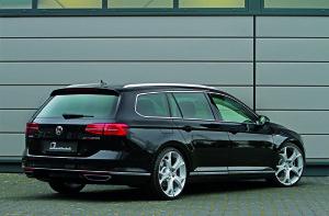 Heckpartie des VW Passat 2.0 TDI