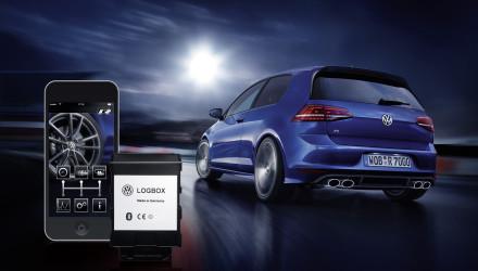 Mit der RaceApp und LogBox von Volkswagen Zubehoer unterwegs sein wie ein Rennprofi