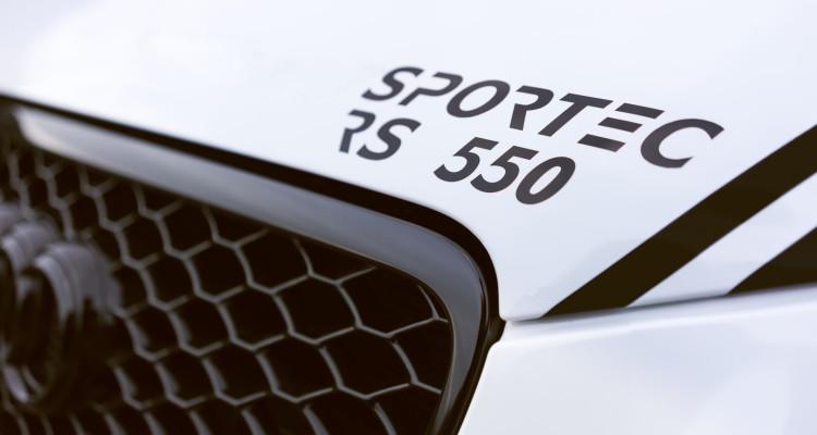 SPORTEC RS 550 Frontpartie