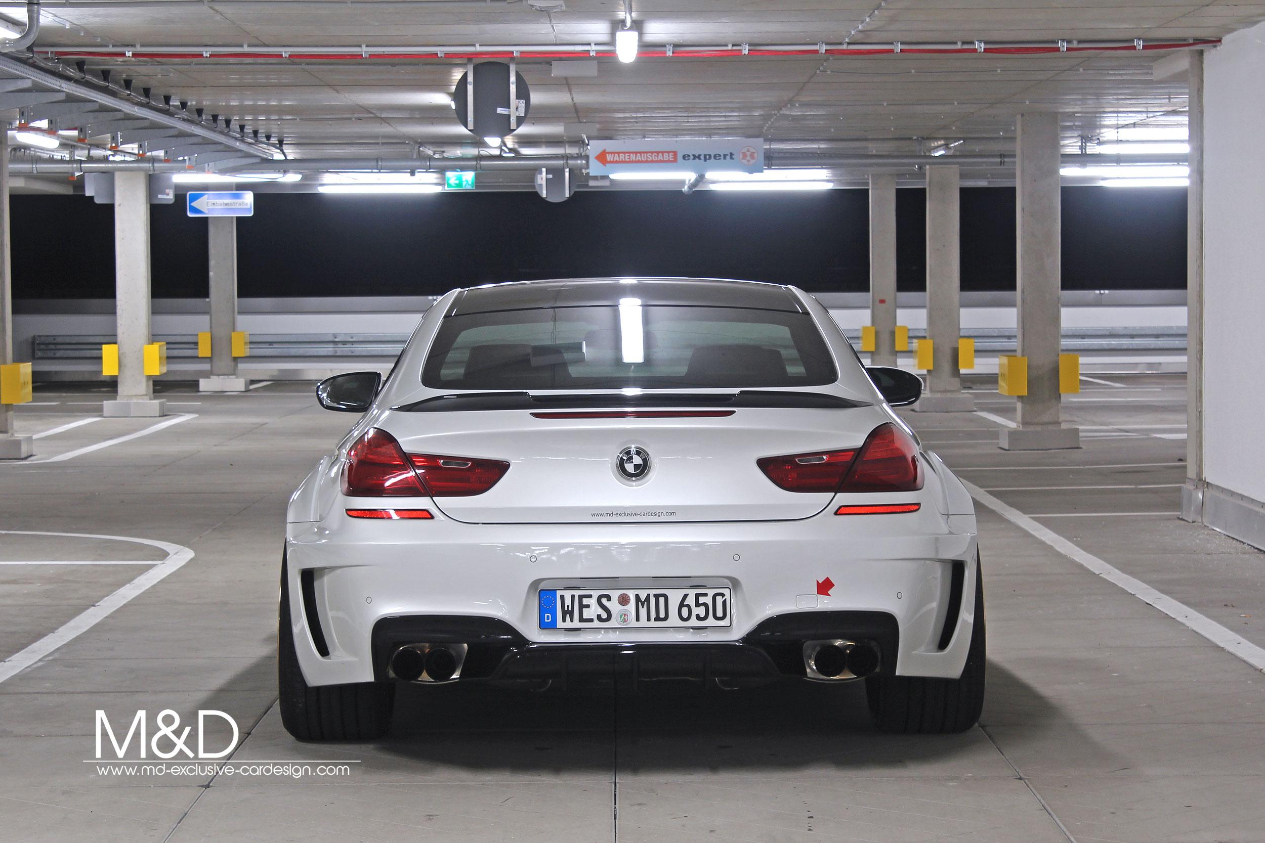 BMW 650i Coupé PD6XX Hinterteil