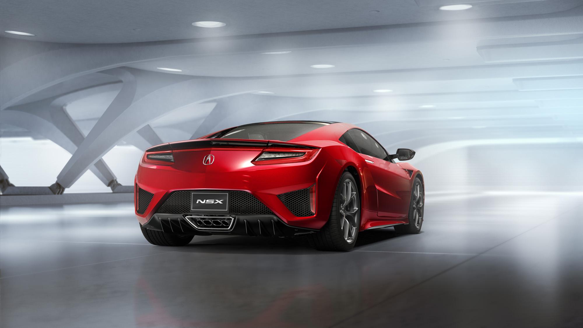 Honda Acura NSX: Hybrider Allrad-Sportler soll bis zu 550 PS bekommen