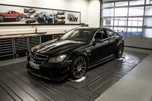 Mercedes C 63 AMG Black Series im KW-Test