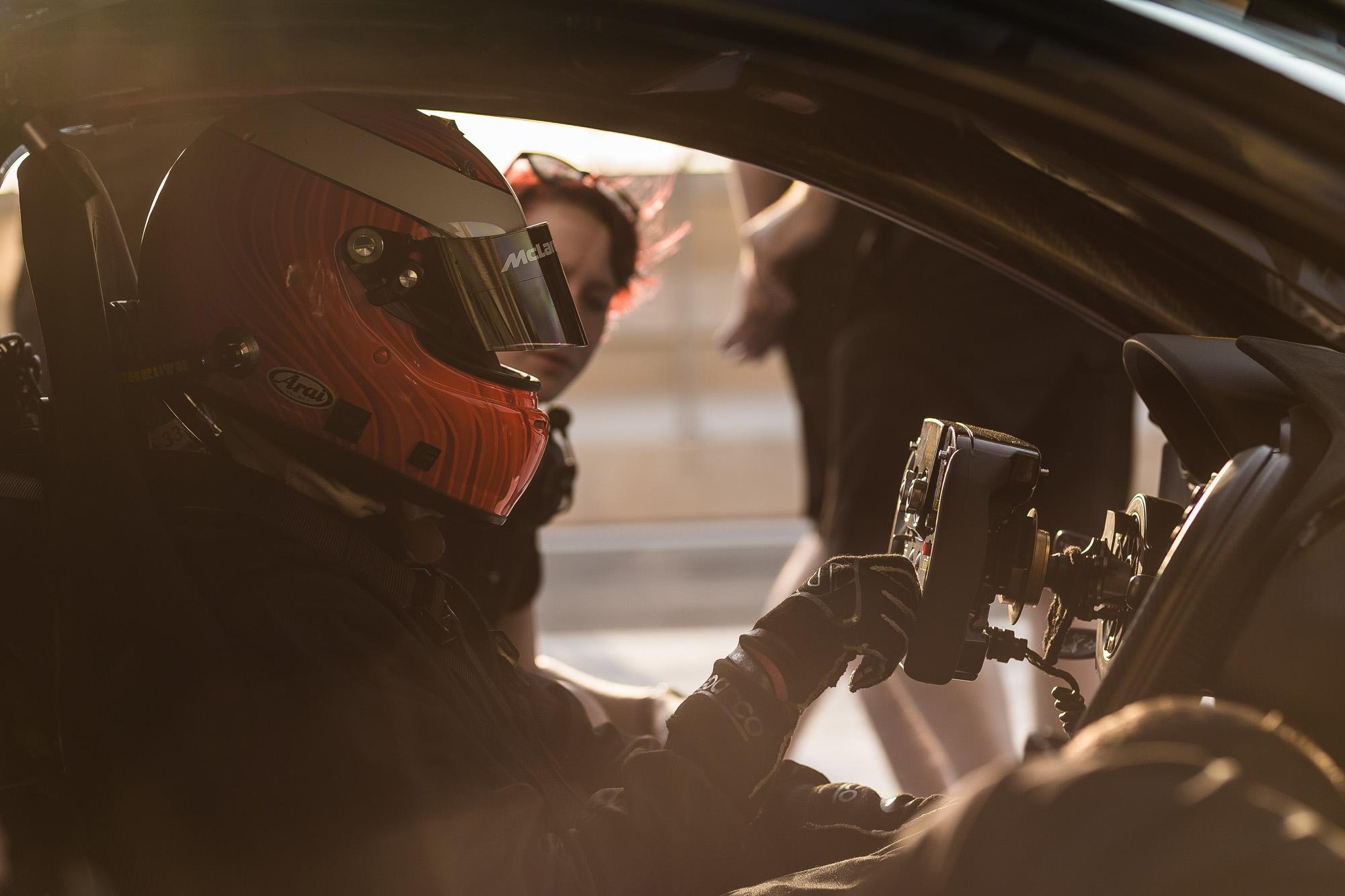 Sportives F1-Lenkrad für den McLaren P1 GTR