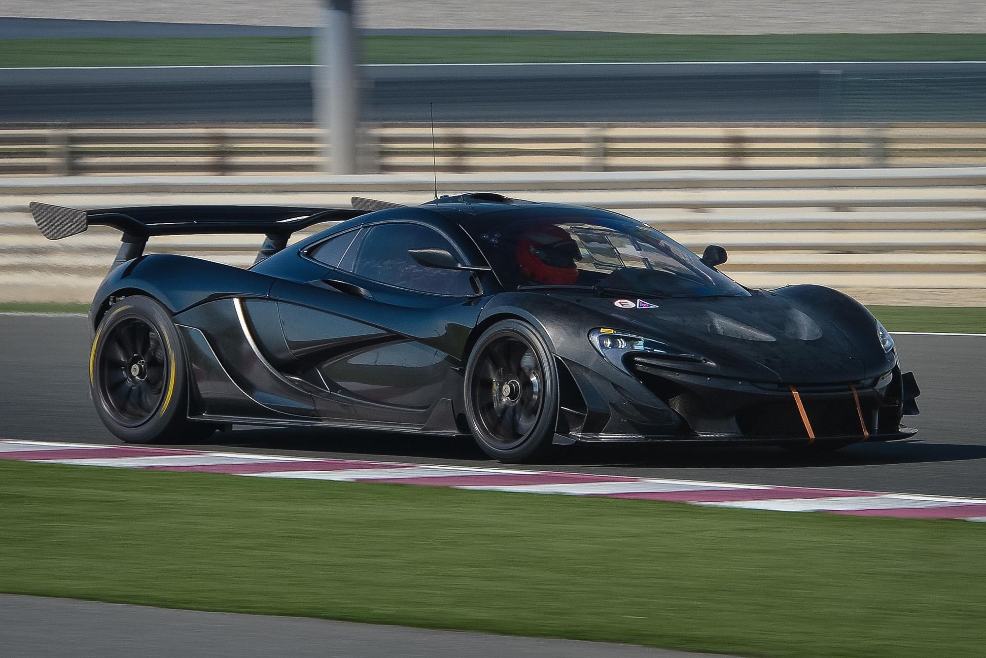 Neue Karosserie für den McLaren P1 GTR