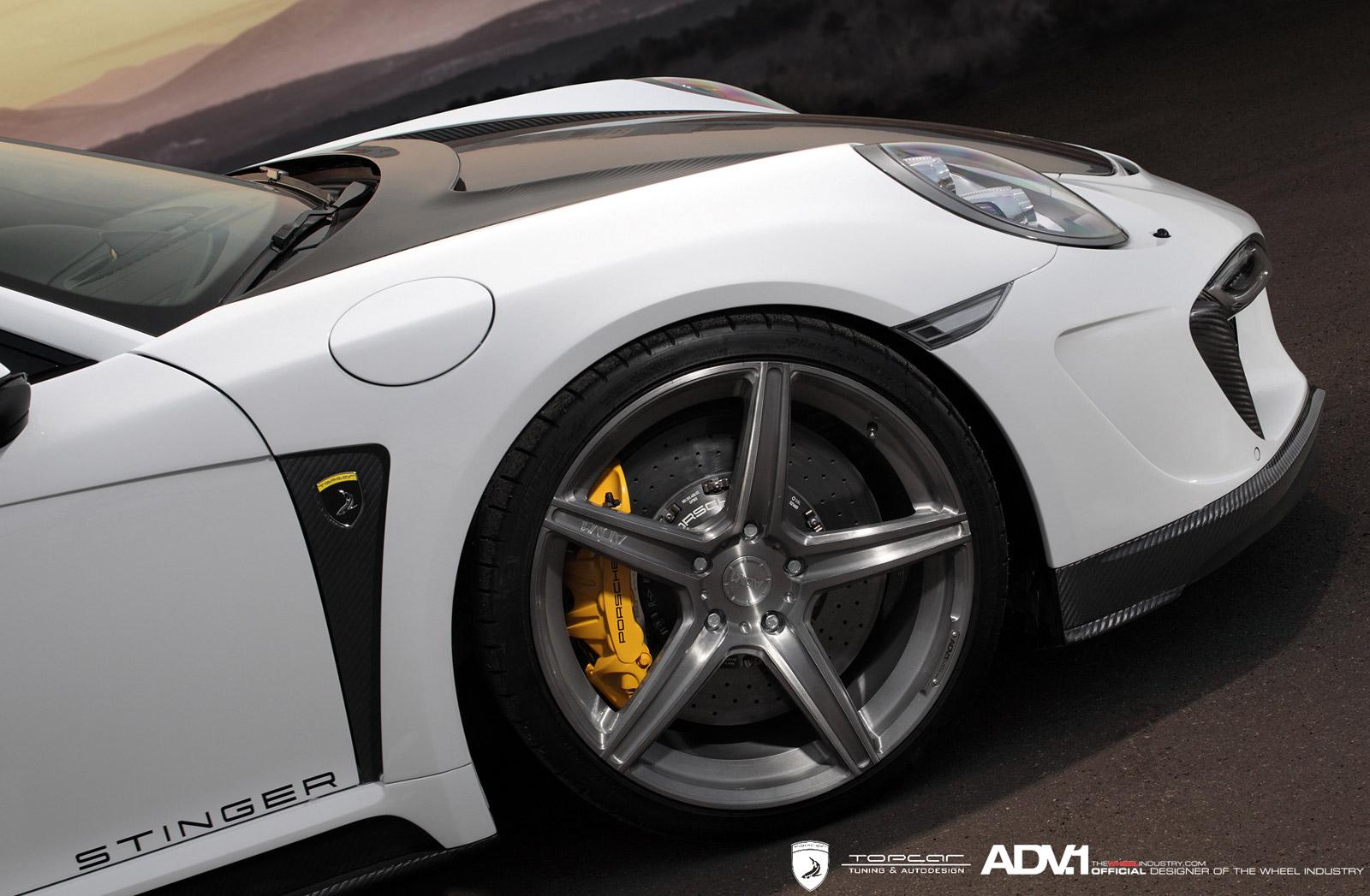 Porsche 911 Stinger GTR Felgen
