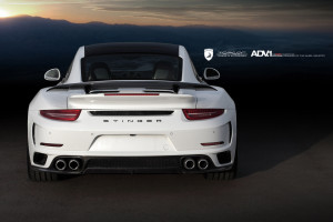 Porsche 911 Stinger GTR Hinterteil