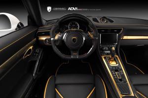 Porsche 911 Stinger GTR Innenraum