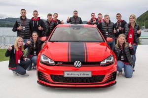 Das Bug des VW Golf 7 GTI Wolfsburg Edition auf dem GTI-Treffen