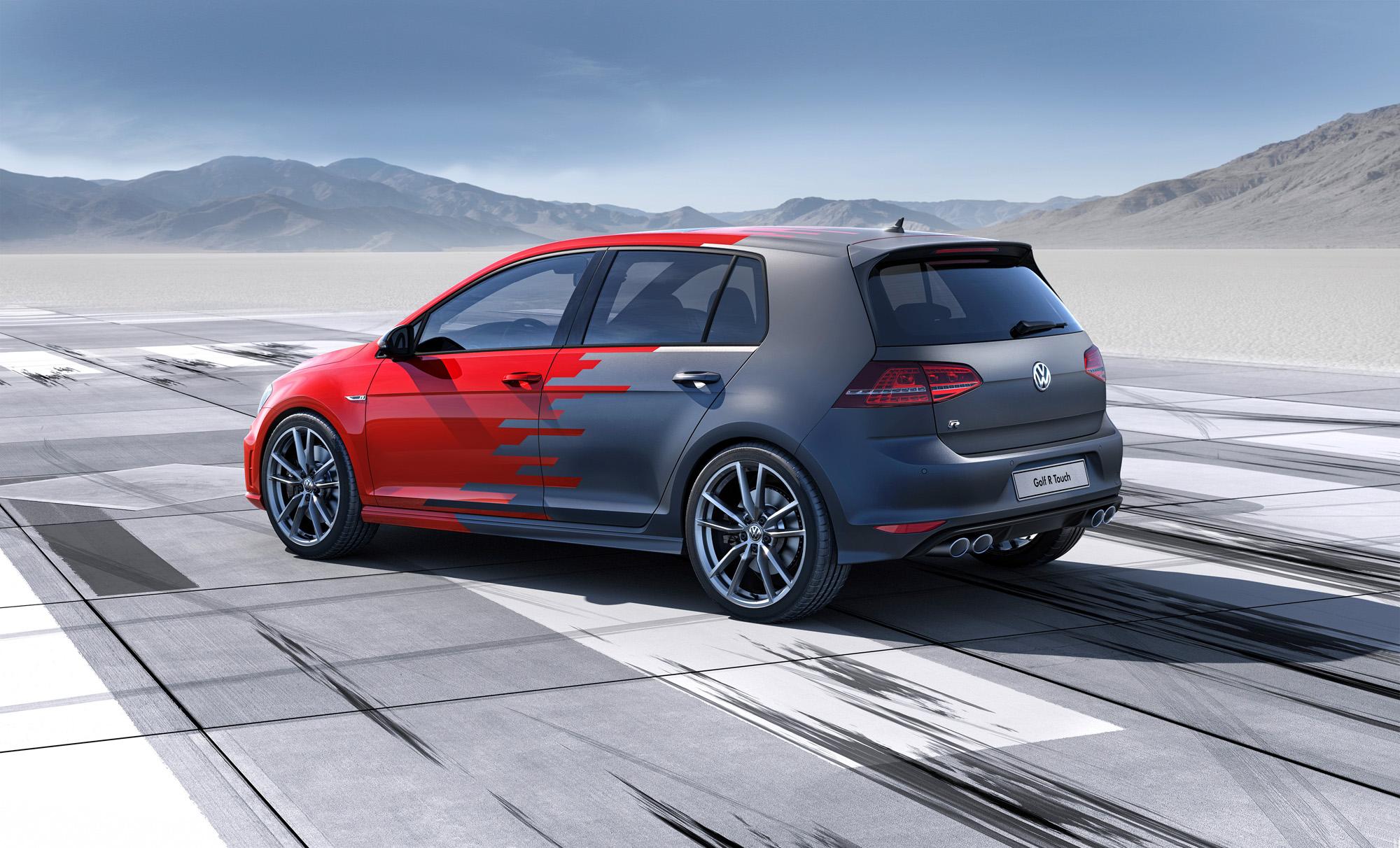 VW Golf 7 R Touch Seitenpartie