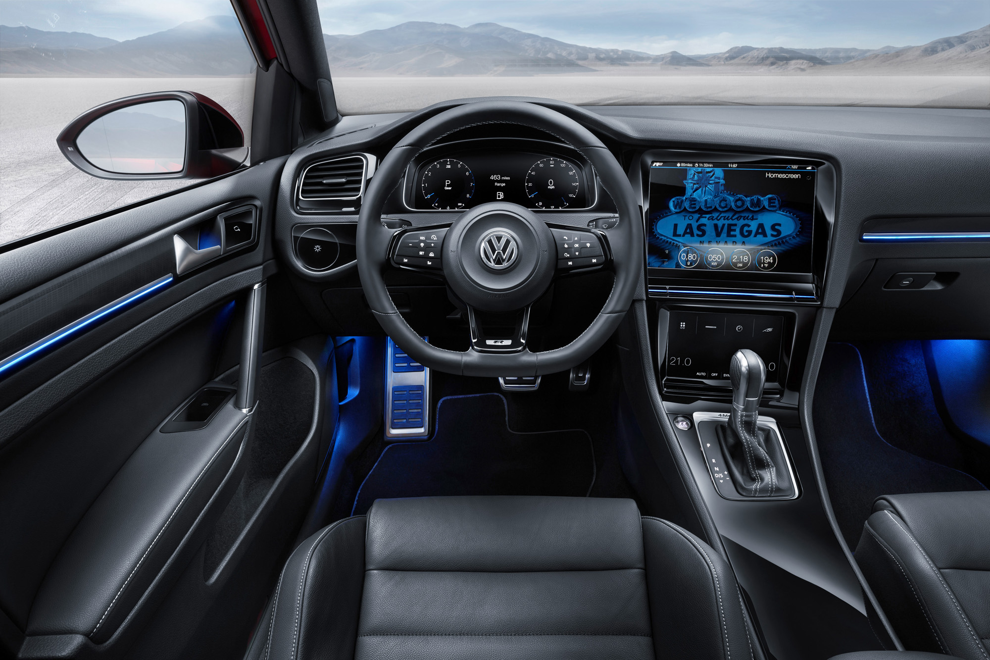 vw golf 7 r touch gestensteuerung als digitales tuning. Black Bedroom Furniture Sets. Home Design Ideas
