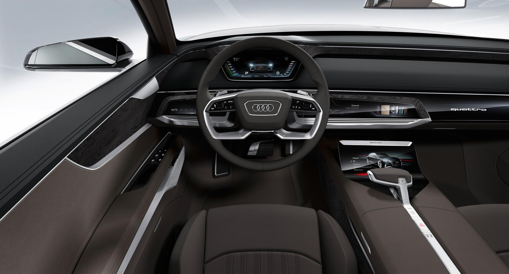 Steuereinheit im Audi prologue Avant