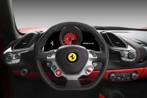 Die Steuereinheit des Ferrari 488 GTB