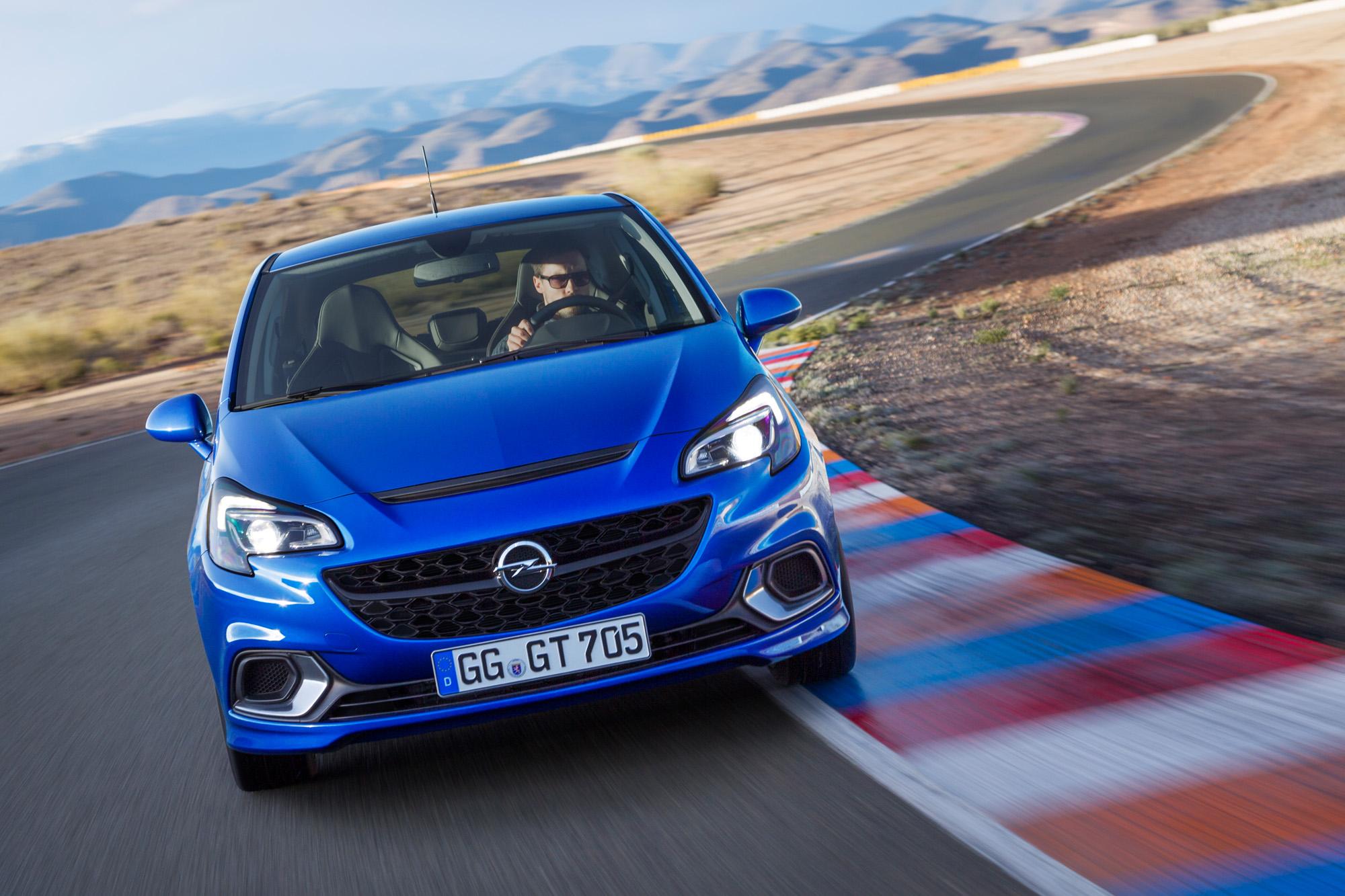 Bugansicht des neuen Opel Corsa OPC