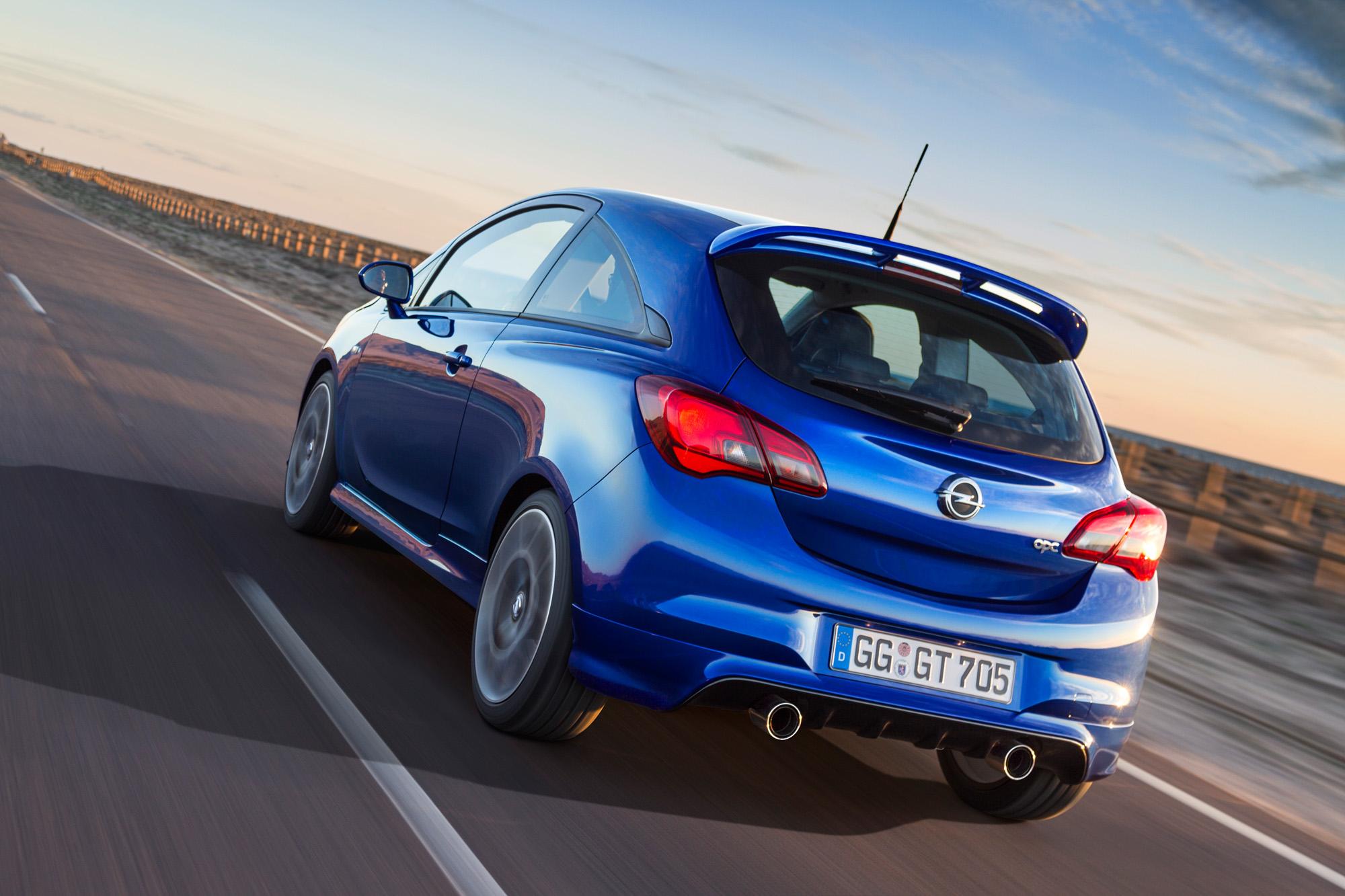 Neue Fahrwerkskomponenten für den Opel Corsa OPC