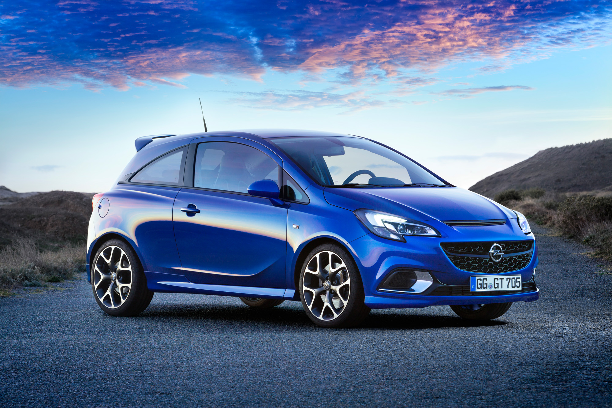 Kompakte Proportionen beim neuen Opel Corsa OPC
