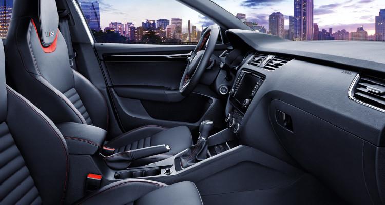 Ein Blick ins Innenleben des bald erscheinenden Skoda Octavia RS 230