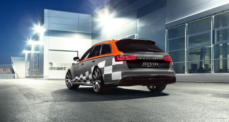 Unten grau, oben grell: Der MTM RS 6 Clubsport mit neuem Look.