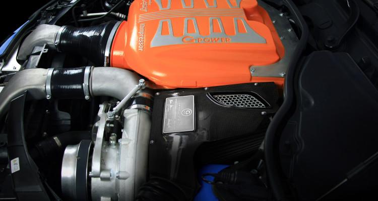 Leistungsstarker Kompressorumbau des G-POWER M3 Coupé