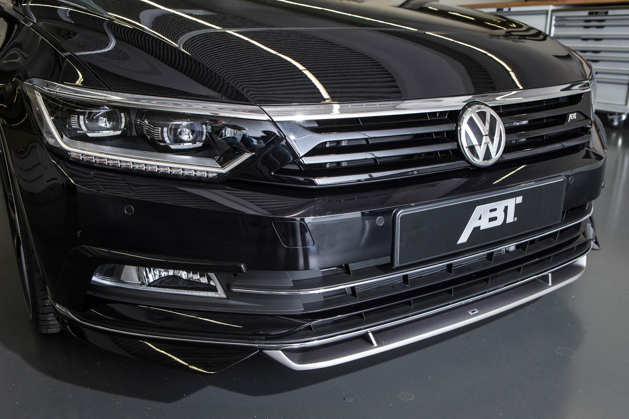 Neuer Frontansatz für den ABT Passat B8