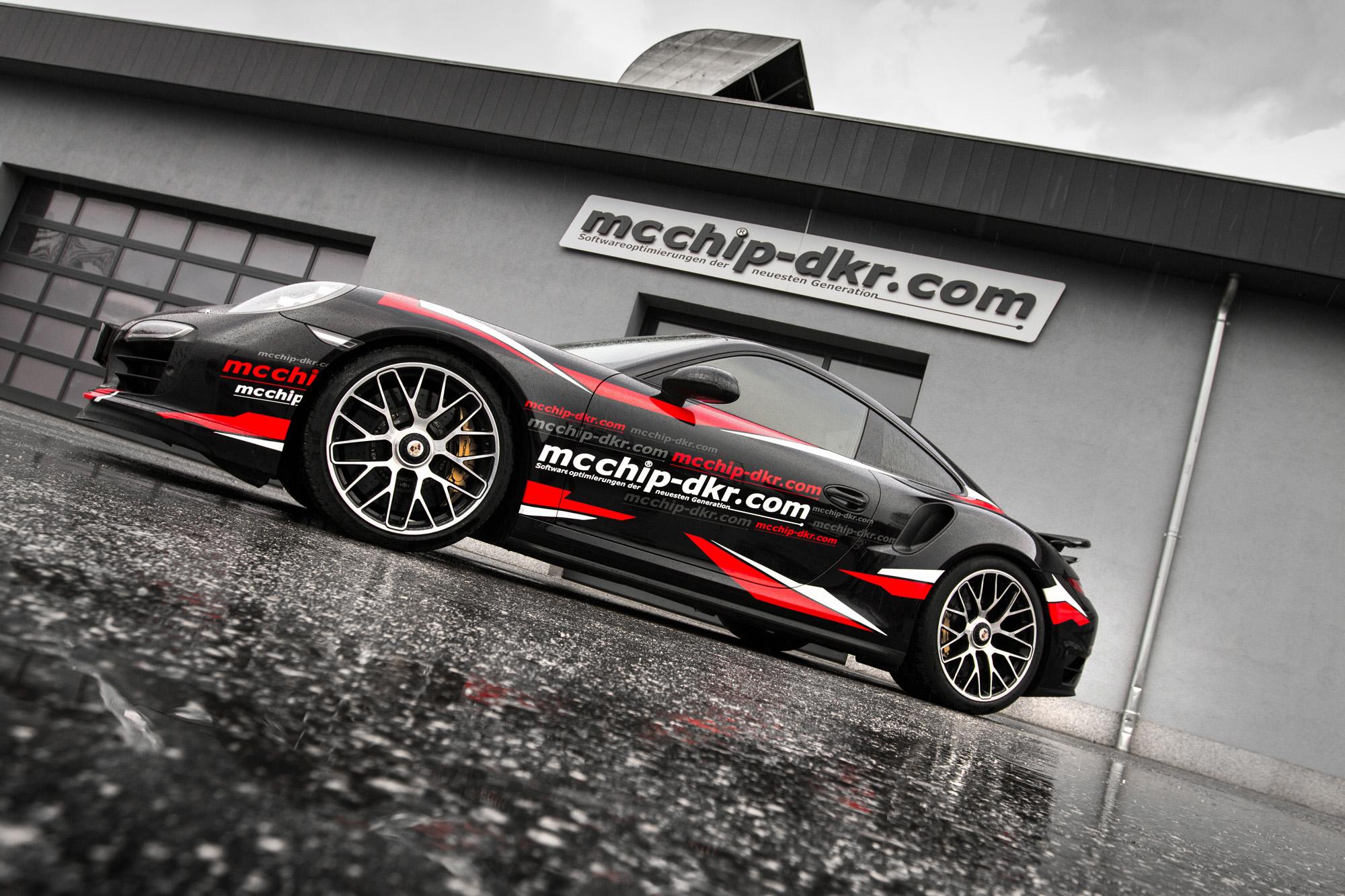 porsche 911 turbo s power tuning am 991er von mcchip dkr. Black Bedroom Furniture Sets. Home Design Ideas
