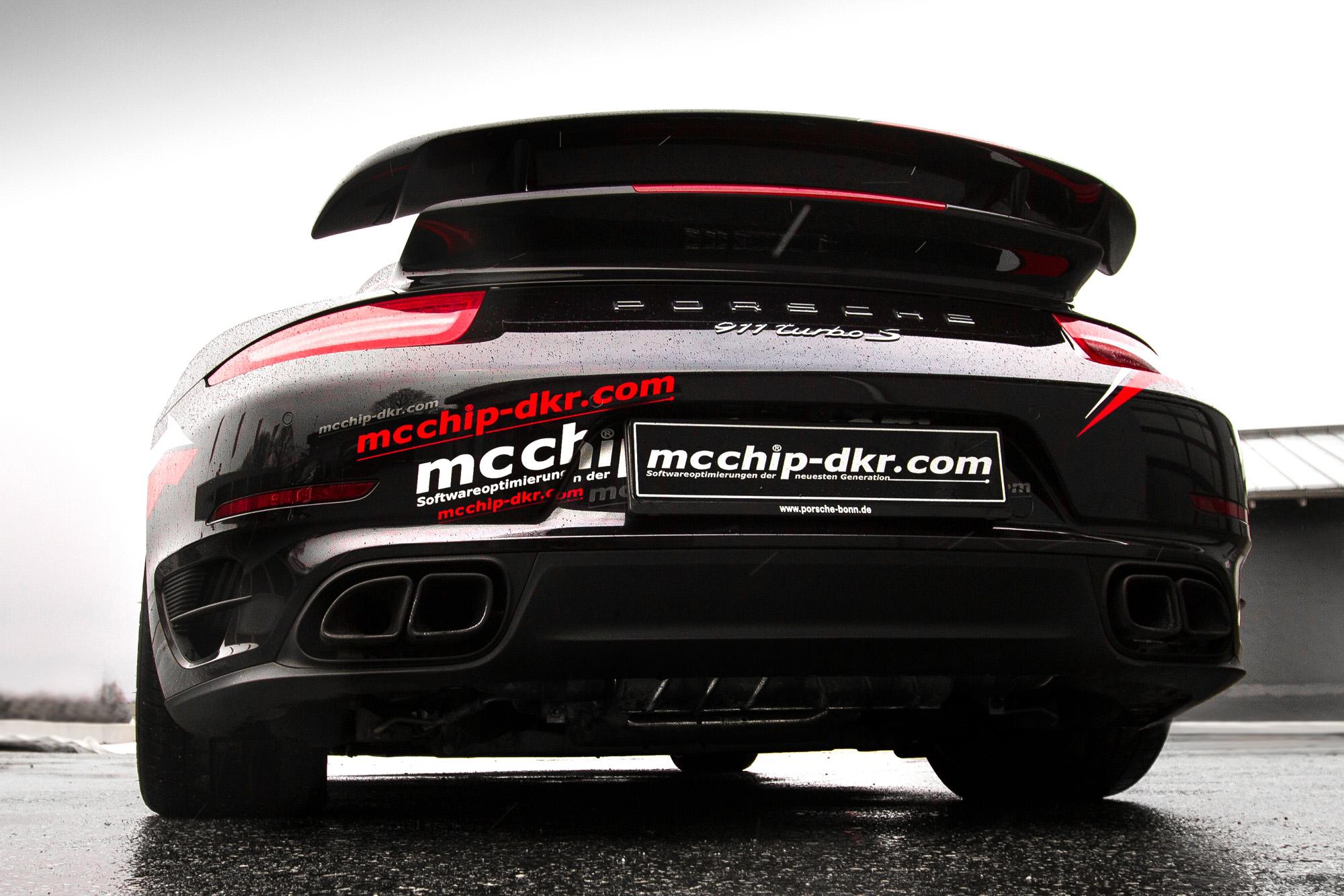 Mit der Capristo-Abgasanlage wird es laut um den Porsche 911 Turbo S.