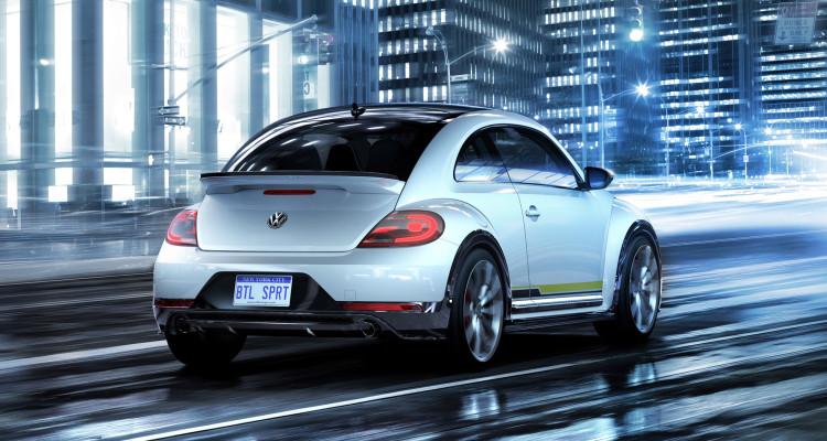 Der Hintern wird mit dem VW Beetle Concept R-Line abermals knackiger.