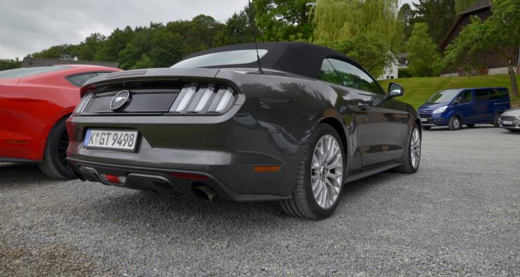 Ein neuer Kompromiss in der Familie: Der Ford Mustang mit Turbo-Vierzylinder.