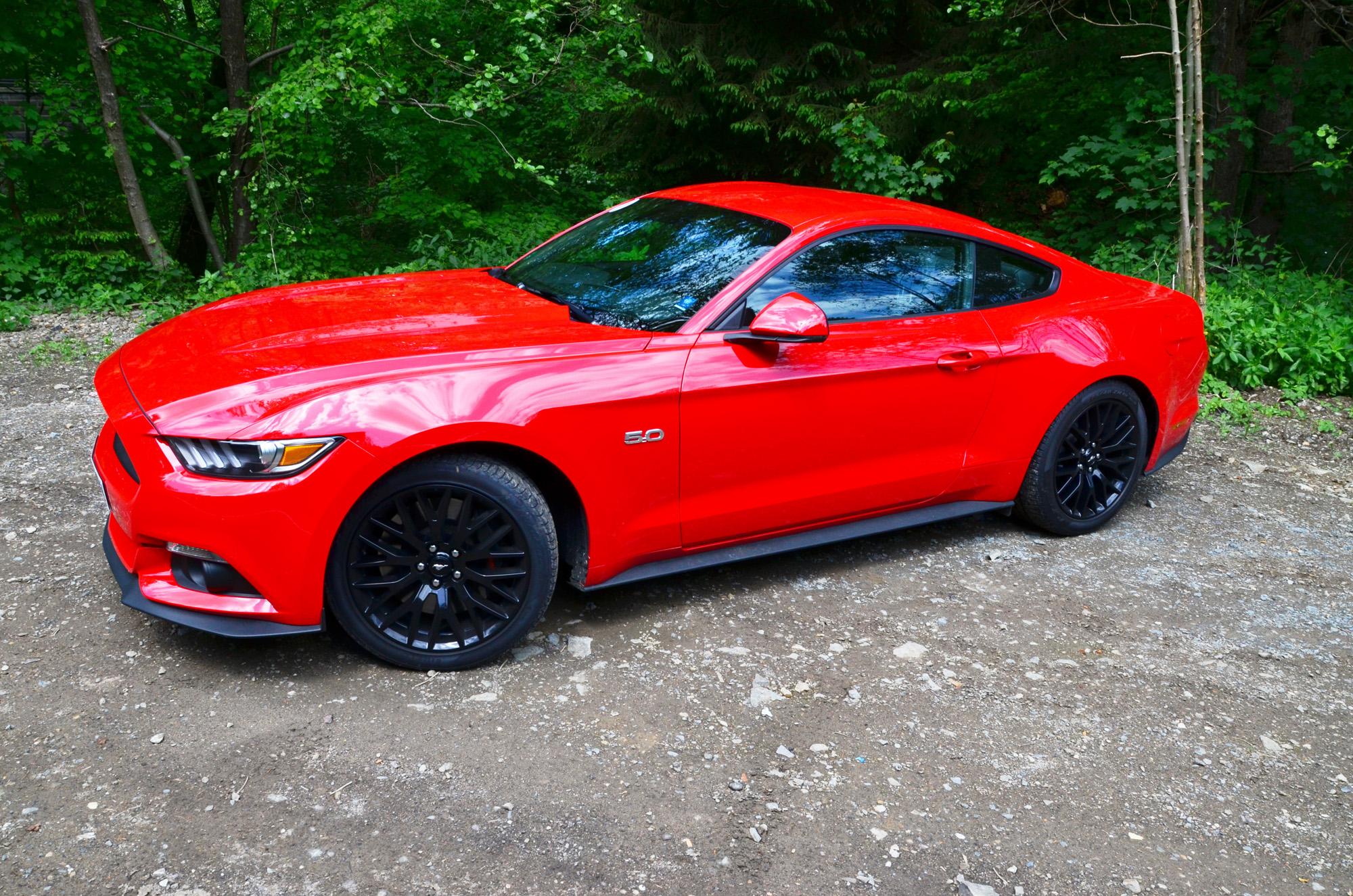 Sex auf vier Rädern: Gibt's im Ford Mustang GT.