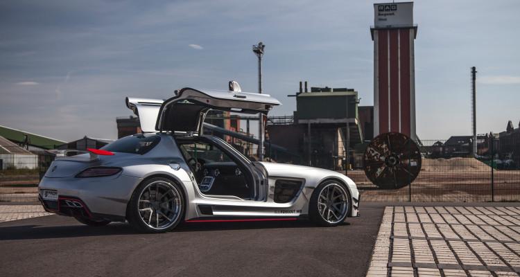 Mercedes SLS AMG Bodykit Seitenansicht