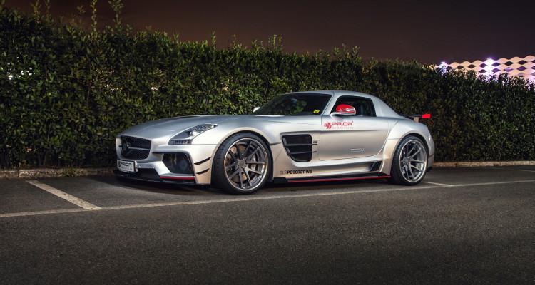 Scharf gezeichnet: Das Mercedes SLS AMG Bodykit von PRIOR-DESIGN.