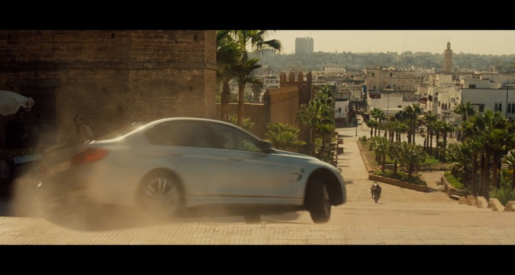 Geht auch mal quer: Der BMW M3 F80 in Mission Impossible 5 Rogue Nation.
