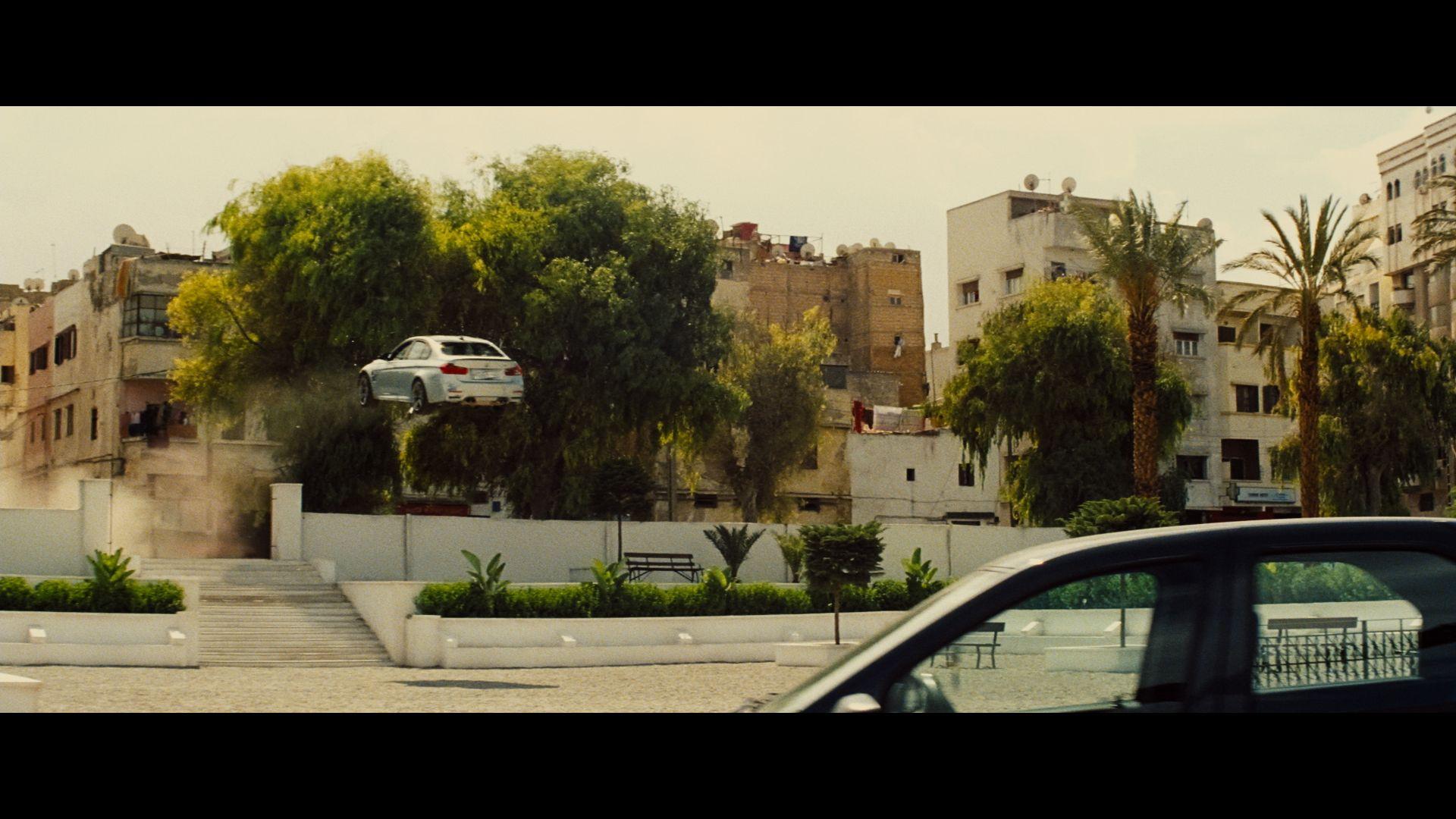 Stuntflug des BMW M3
