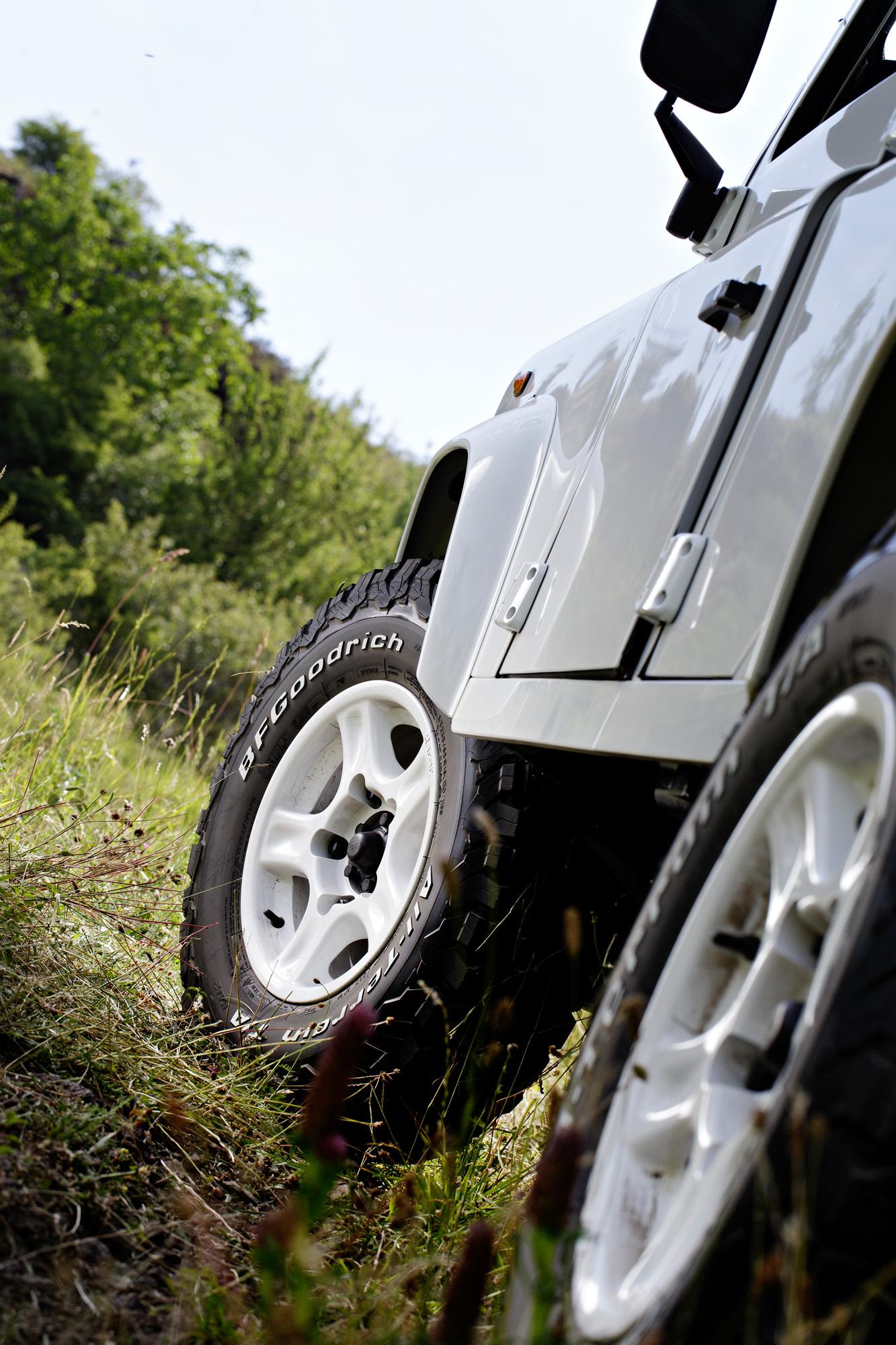 So beißt man sich mit dem neuen Michelin BFGoodrich All Terrain-Reifen durch's Gelände.