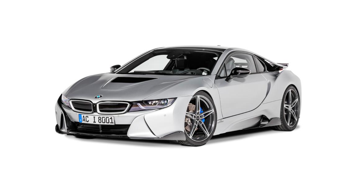 Knackig und geschärft: Der BMW i8 von AC Schnitzer wirkt aufgemotzt.