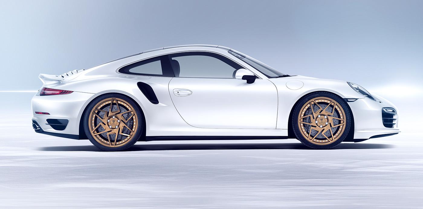 porsche 911 turbo s der felgenexot von prototyp production. Black Bedroom Furniture Sets. Home Design Ideas