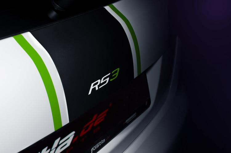 Gelungene Folierung des Audi RS 3 von fostla.de