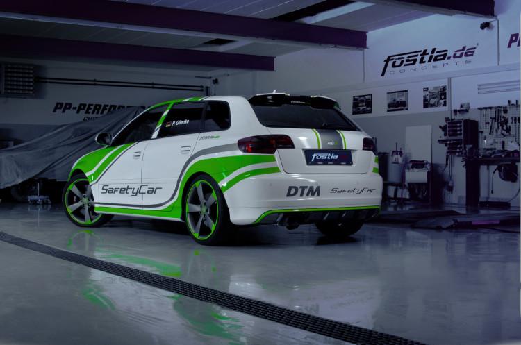 Dezent und auffällig folierter Audi RS 3
