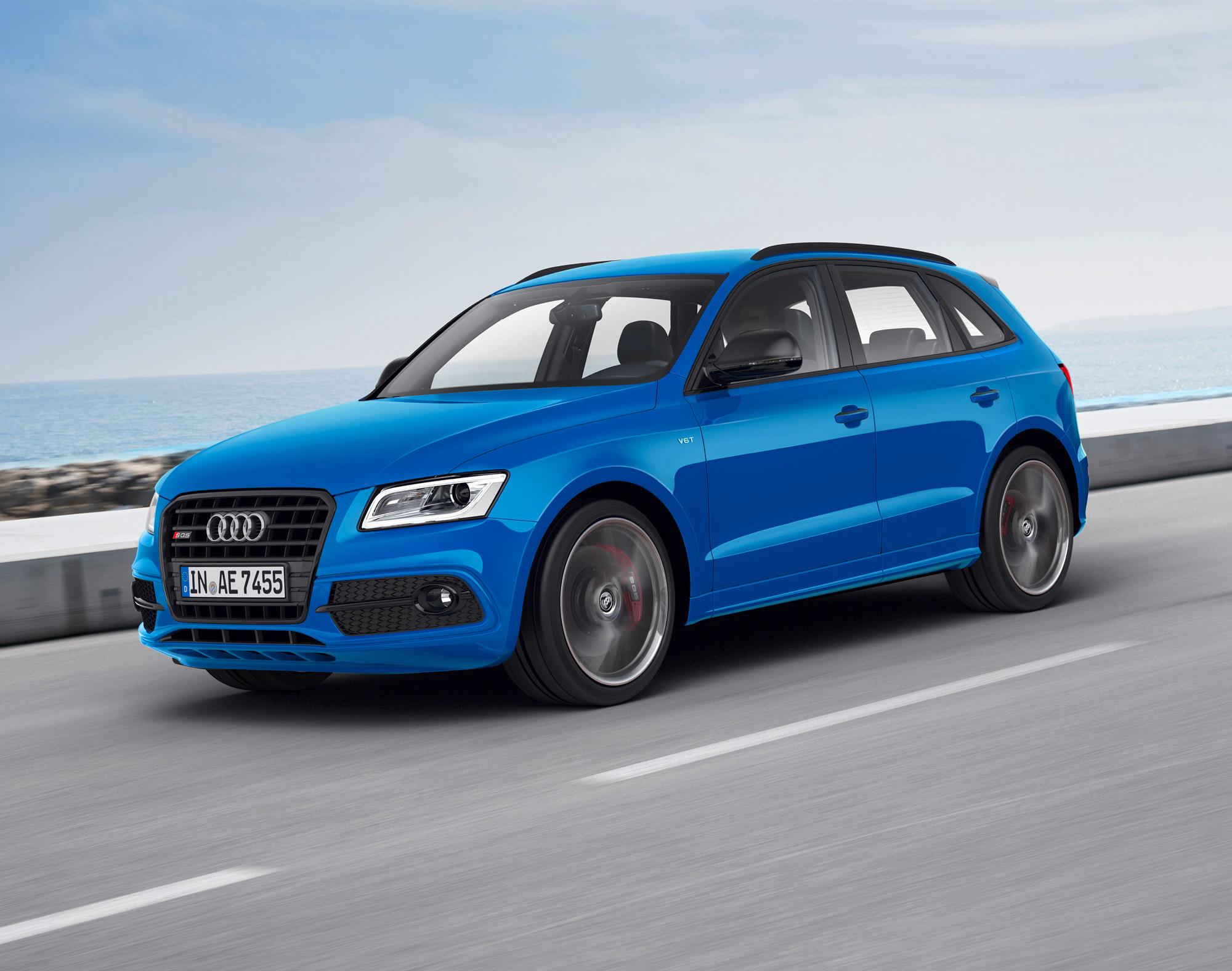 Sprintstark ist der Audi SQ5 TDI plus natürlich auch: Bis Tempo 250 ist beinahe alles problemlos möglich.
