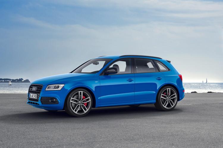 Etwas sonderbar in der Optik: Dem Audi SQ5 TDI plus spielt sogar die quattro GmbH in die Karten.