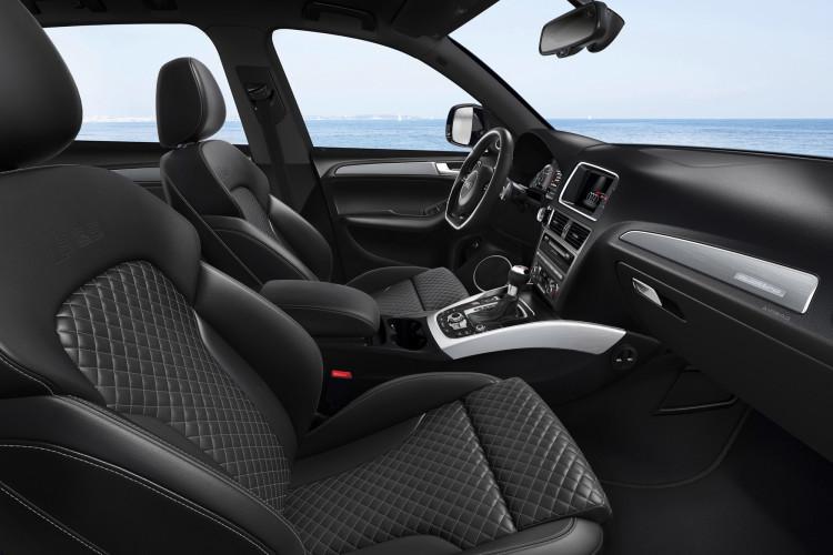 Auch der Blick ins Innere lohnt, vor allem wenn es Audi exclusive ist.