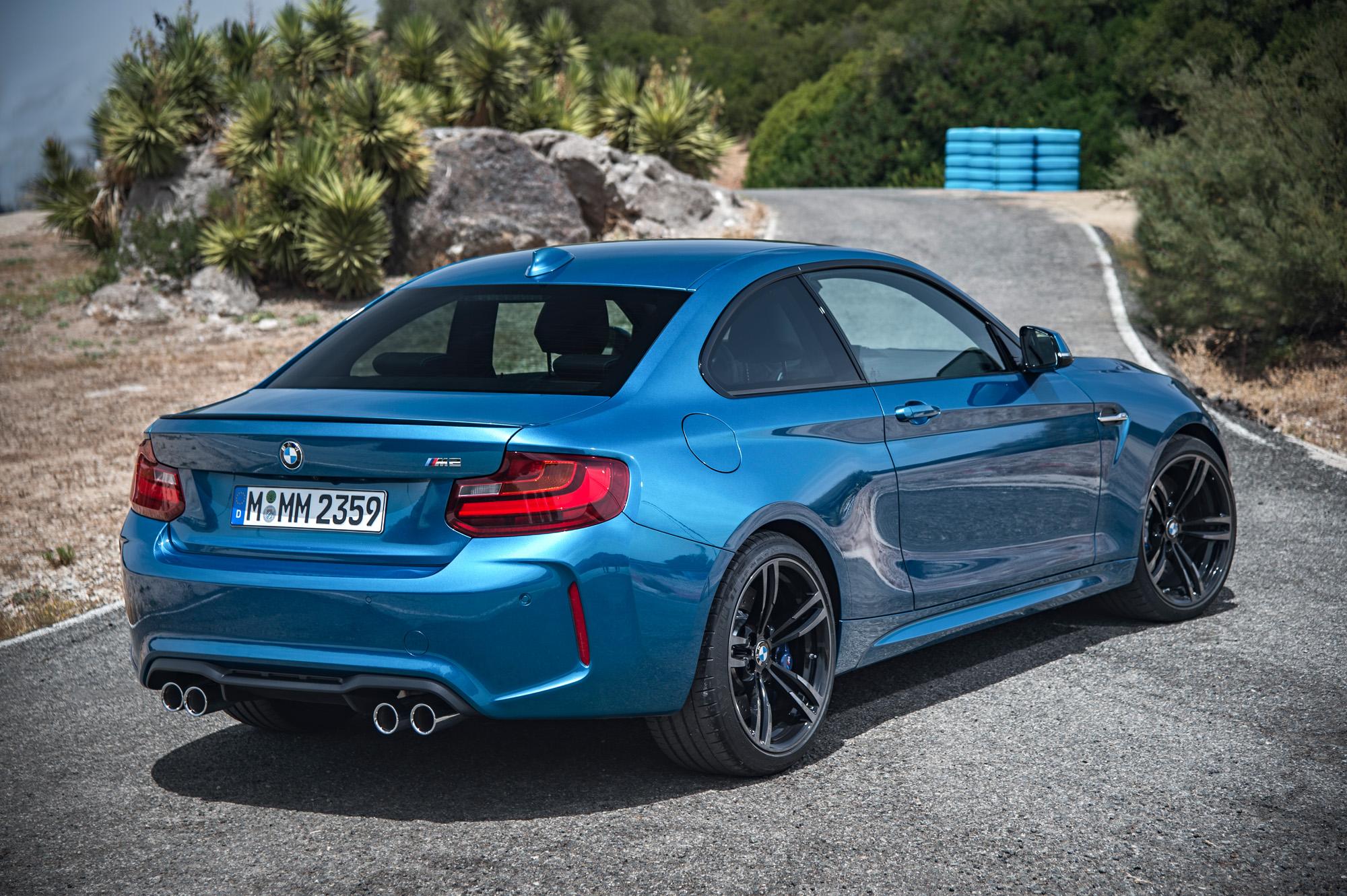 Kickstartfreude im BMW M2 Coupé