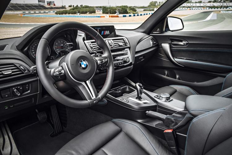 Das BMW M2 Coupé von innen