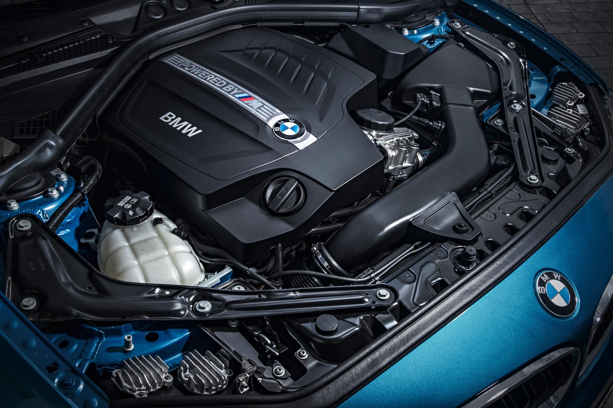 Der Motor des neuen BMW M2