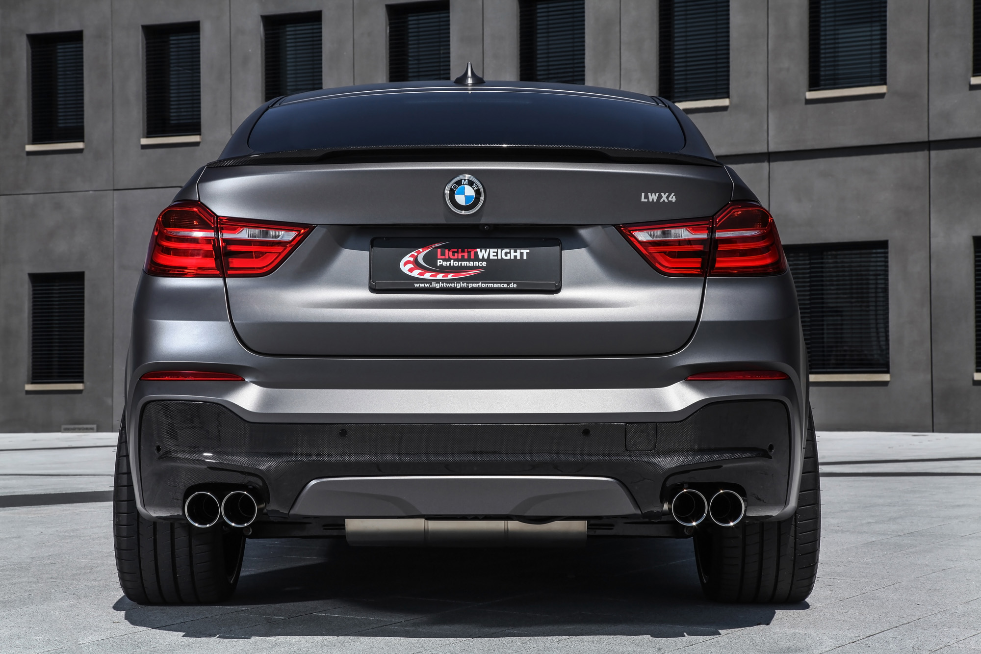 Bmw X4 Tuning Power Paket Von Leightweight Performance