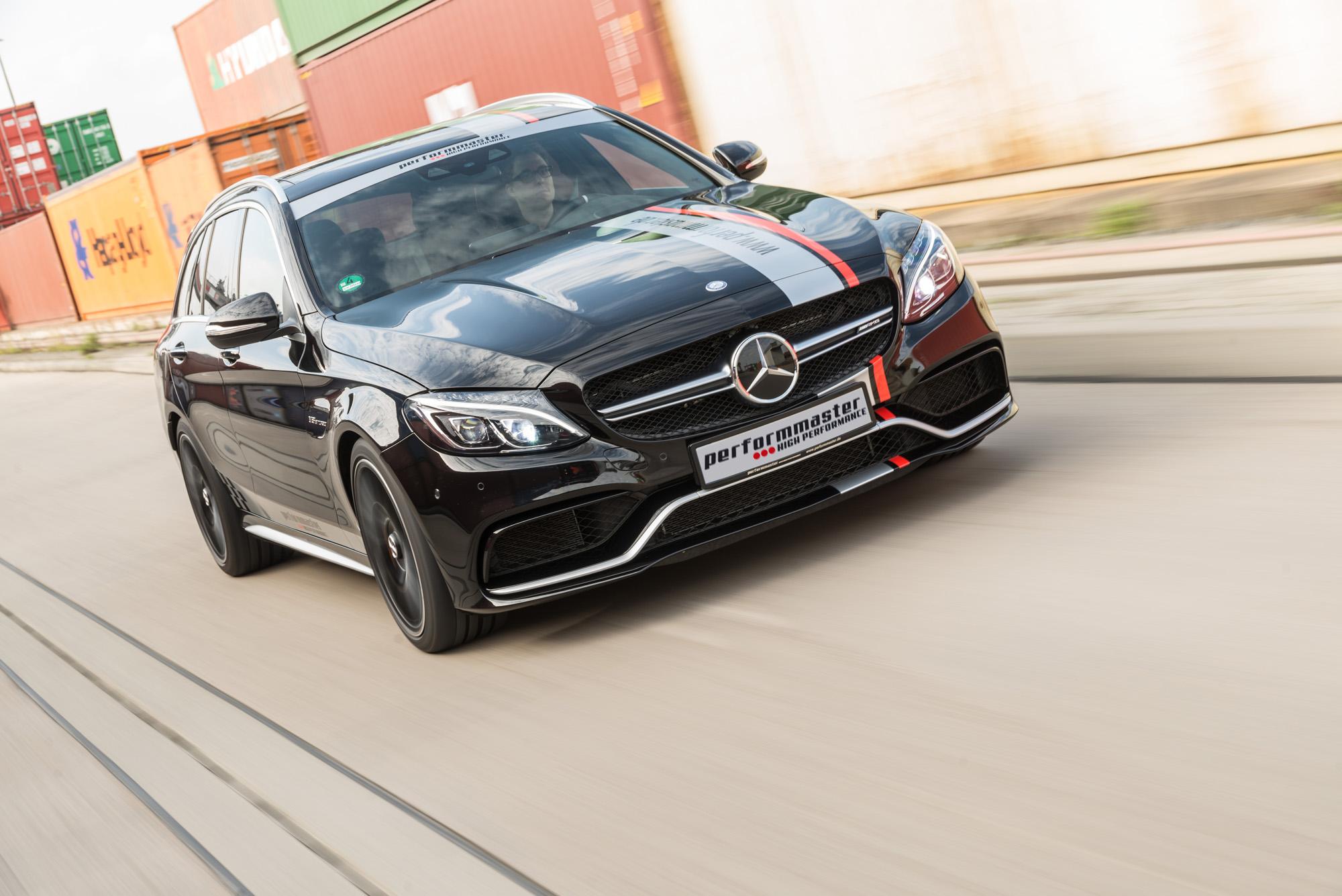 Leistung top, Optik so lala - der Mercedes-AMG C 63 S von performmaster