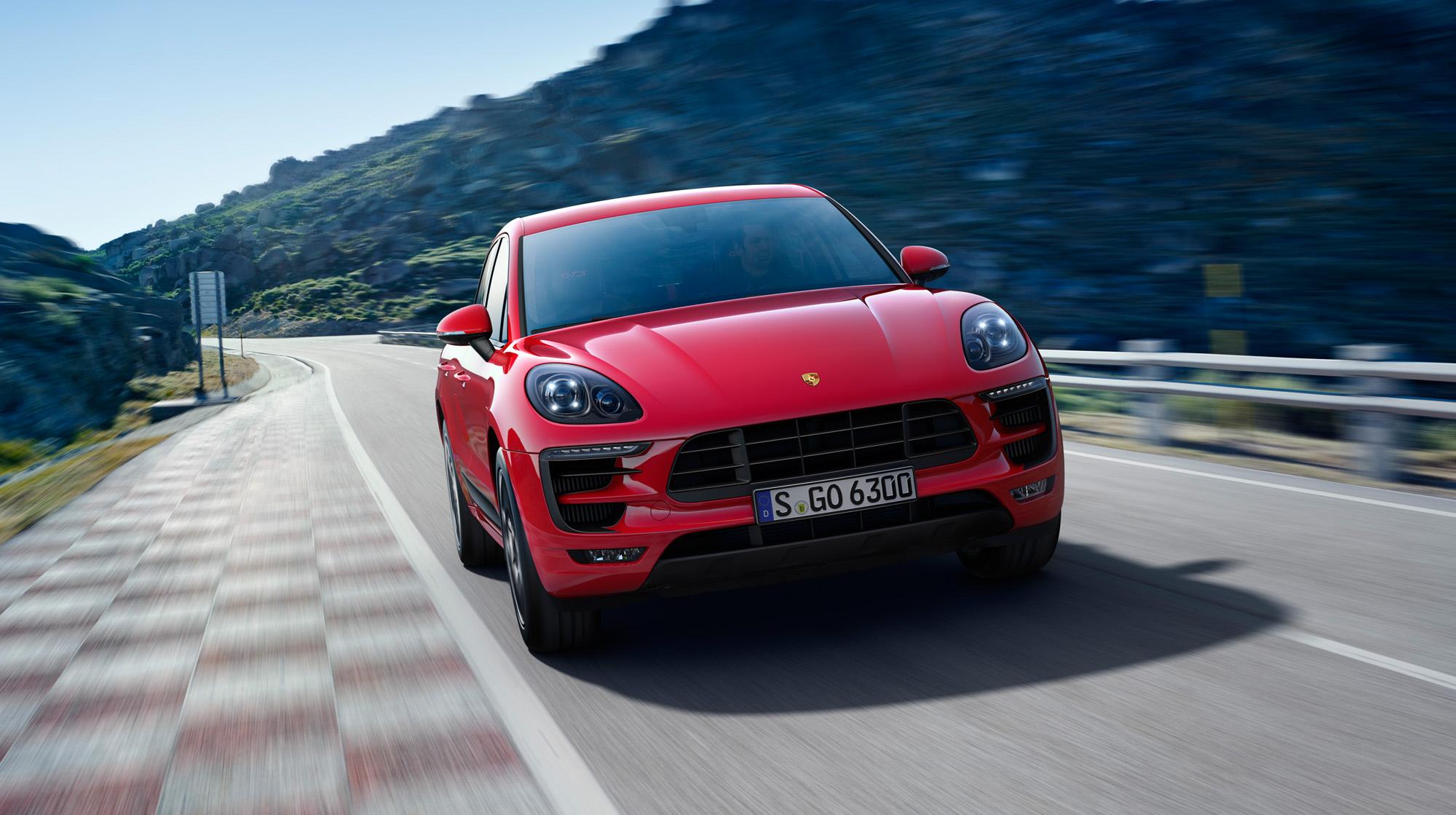 Sonderlackierung beim Porsche Macan GTS