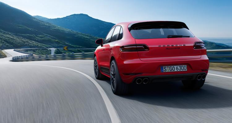 Sportabgasanlage beim Porsche Macan GTS