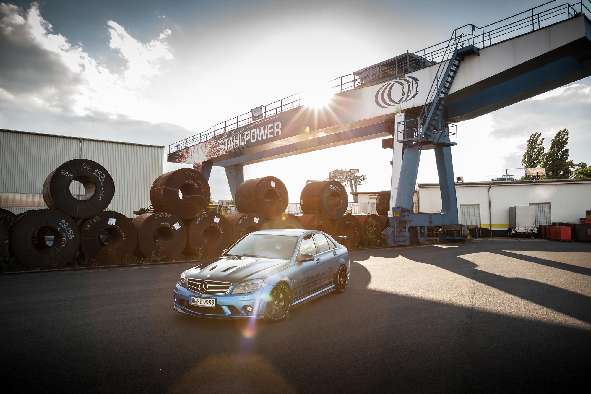 Noch lange kein altes Eisen: der 2010er Mercedes C63 AMG