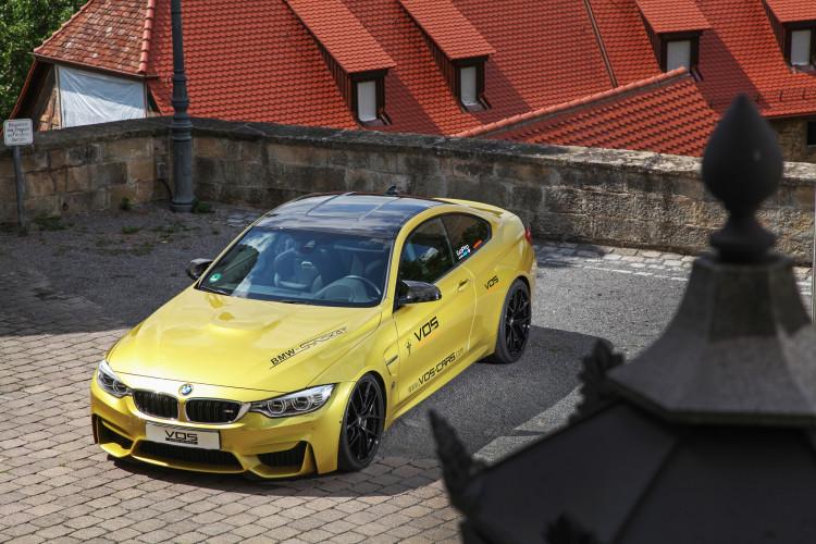 Dach des BMW M4 von VOS