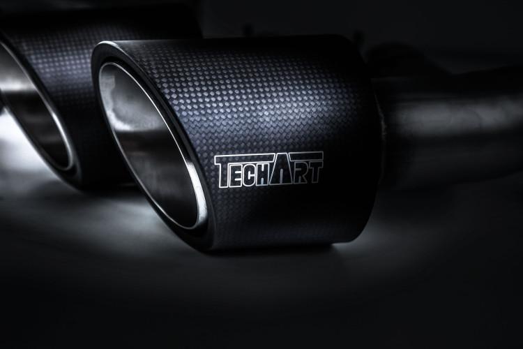 Edelstahl-Endrohre für den Porsche Cayenne Magnum